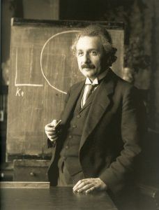 1921 Portrait of Albert Einstein